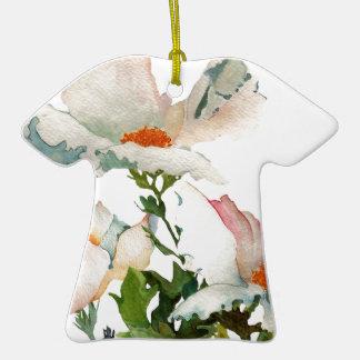 Fleurs mûres abstraites décoration pour sapin de noël