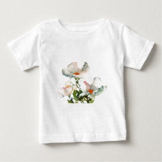 Fleurs mûres abstraites t-shirts