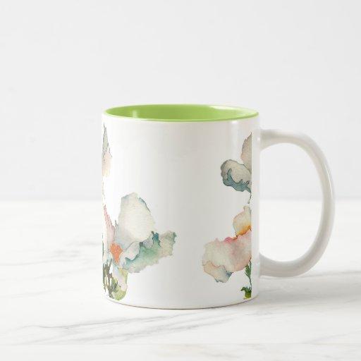 Fleurs mûres abstraites mug