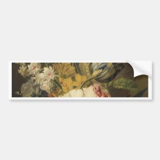 Fleurs par un vase en pierre - Faes Autocollant Pour Voiture