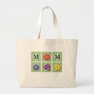 Fleurs pour le jour de mère sac fourre-tout