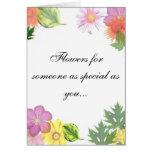 Fleurs pour vous… cartes de vœux