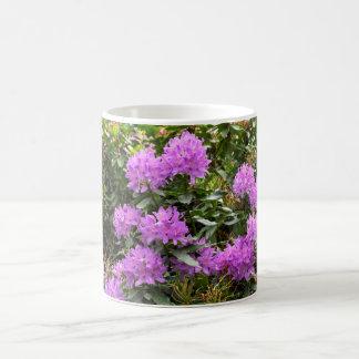 Fleurs pourpres de rhododendron mug