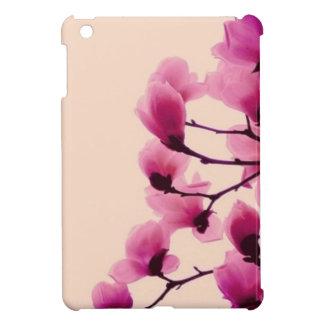 Fleurs pourpres étui iPad mini