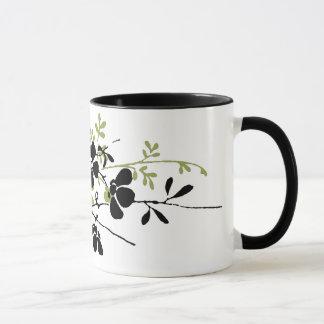 Fleurs pressées mug