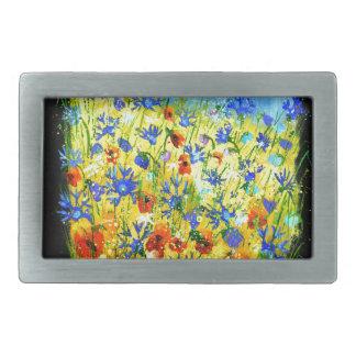 fleurs sauvages 677130.JPG Boucles De Ceinture Rectangulaires