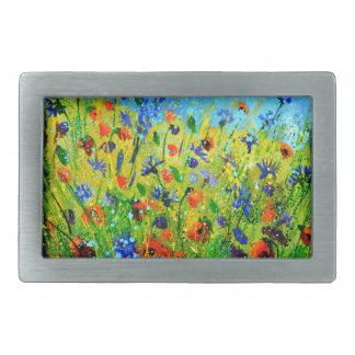 fleurs sauvages 677140.JPG Boucles De Ceinture Rectangulaires
