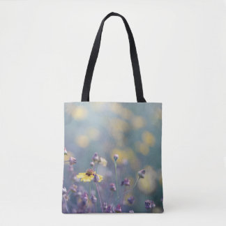 Fleurs sauvages anglaises sac