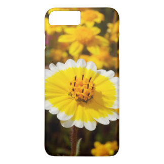 Fleurs sauvages de bout rangé coque iPhone 7 plus