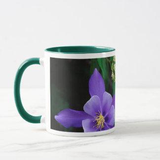 Fleurs sauvages de Columbine de mutant Mugs