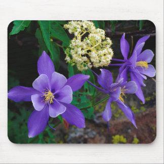 Fleurs sauvages de Columbine de mutant Tapis De Souris
