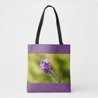 Fleurs sauvages pourpres sac