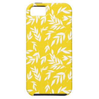 Fleurs sur le jaune de miel coque iPhone 5