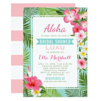 Fleurs tropicales nuptiales des invitations | de