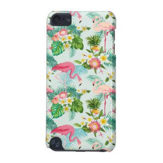 Fleurs tropicales vintages et oiseaux coque iPod touch 5G