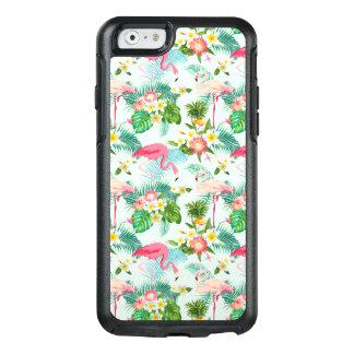 Fleurs tropicales vintages et oiseaux coque OtterBox iPhone 6/6s