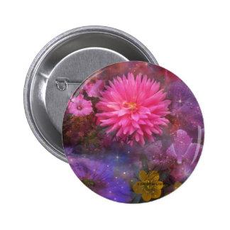Fleurs - un bouquet visuel pour la maman pin's