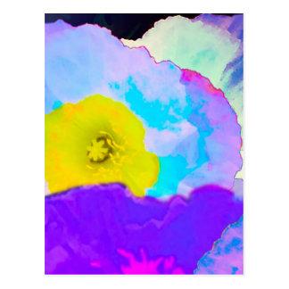 Fleurs vibrantes carte postale