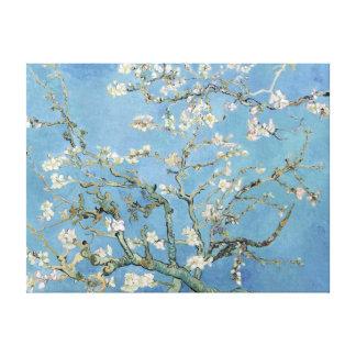 Fleurs vintages d'amande de Vincent van Gogh Toiles