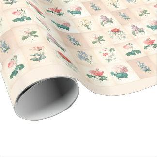 Fleurs vintages par Redoute - papier d'emballage Papier Cadeau