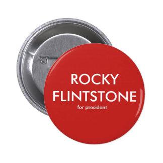 Flintdstone rocheux de Belinda a clignoté le Pin's
