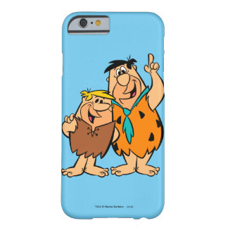 Flintstone de blocaille et de Fred de prise de bec Coque iPhone 6 Barely There