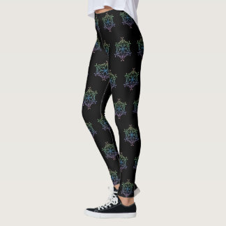 Flocon de neige iridescent Legging