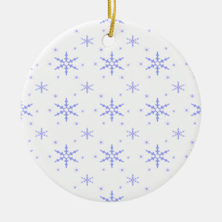 Flocon de neige mignon pattern.jpg de Noël 520 Ornement Rond En Céramique