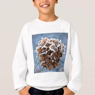 Floraison avec des cristaux de glace sweatshirt