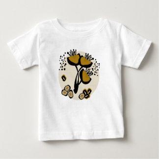 Floraison tees t-shirt pour bébé