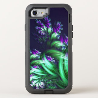 floral abstrait impressionnant coque OtterBox defender iPhone 8/7