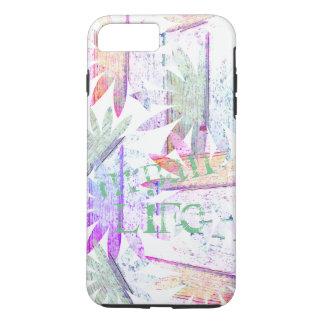 Floral abstrait - iPhone 7, cas dur d'Apple de Coque iPhone 7 Plus