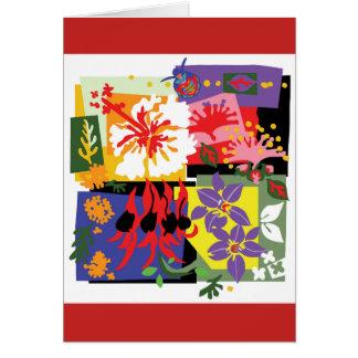 Floral - carte de voeux