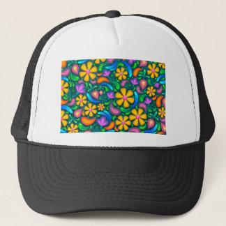 floral casquette