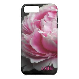 Floral élégant de pivoine molle coque iPhone 7 plus