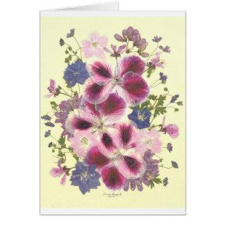 Floral glorieux cartes