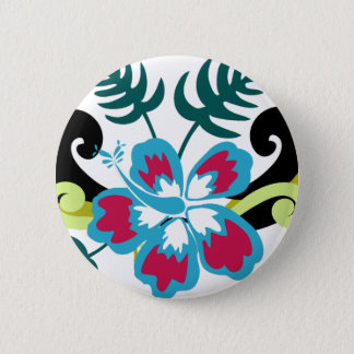 Floral hawaïen badge