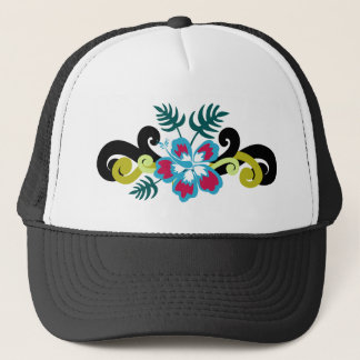 Floral hawaïen casquette