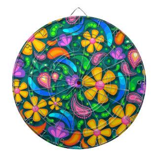floral jeu de fléchettes