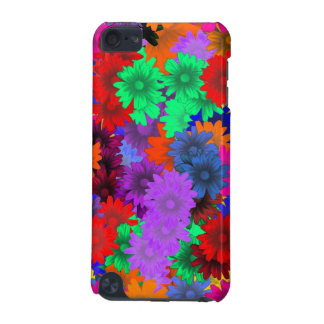 Floral multicolore coque iPod touch 5G