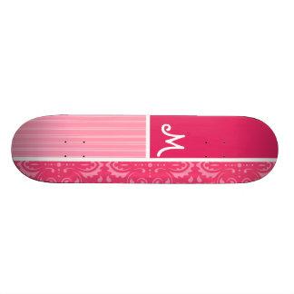 Floral rose lumineux planches à roulettes customisées