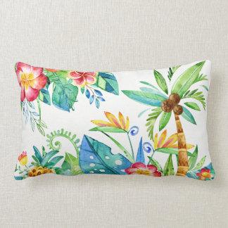Floral tropical oreiller