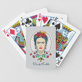 Floral vintage de Frida Kahlo | Jeu De Cartes