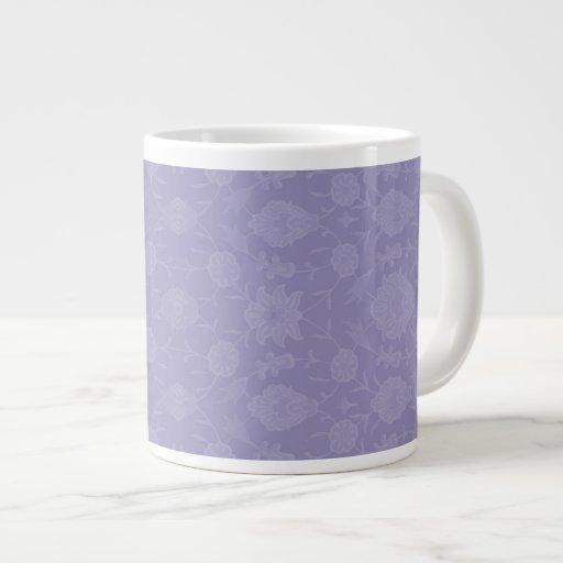 Floral vintage mauve-clair mug jumbo