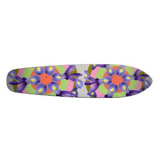 Floralies d'IRIS néerlandais Skateoard Personnalisé