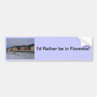 Florence Autocollant De Voiture