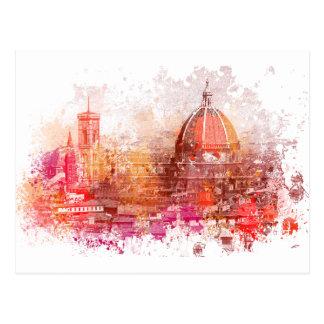 Florence - basilique de saint Mary de la fleur Cartes Postales