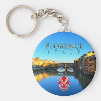 Florence - Ponte Vecchio Porte-clé Rond