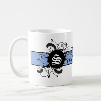 Flourish victorien personnalisé décoré d'un mug