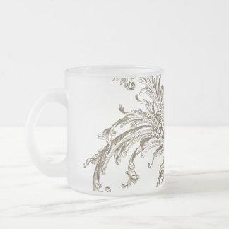 Flourish vintage affligé tasse à café